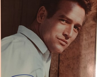 PAUL NEWMAN Hand-Signed Authentic Autograph Photograph with COA