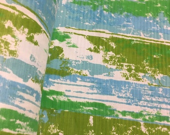 Vintage semi-sheer funky fabric