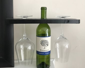 Unique Wine & Glass Rack