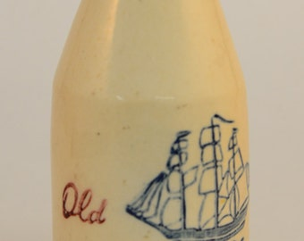 Antique Old Spice Bottle - Hull Pottery