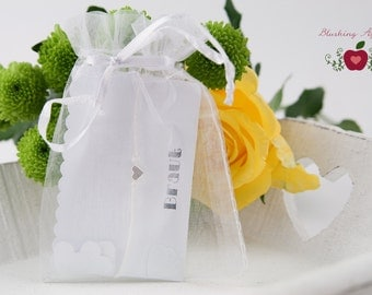 Bracelet - wedding / hen / friends - with text, various colors, armcandy, minimalist heart