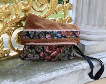 Messenger bag in vintage look