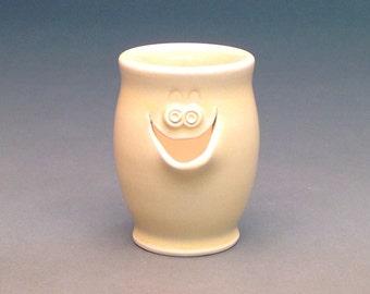 Bone Color, Egg Separator, Ceramic Egg Separator, Pottery Egg Separator, Egg Separator, Handmade Egg Separator