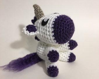 Unicorn Amigurumi Crochet Plushie