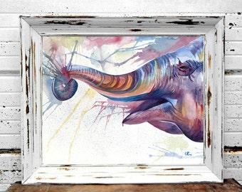 Elephant in Paint