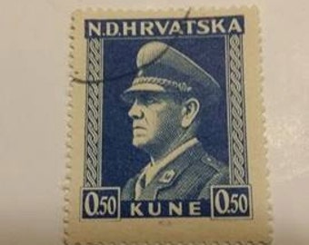 post stamp croatia hrvatska NDH