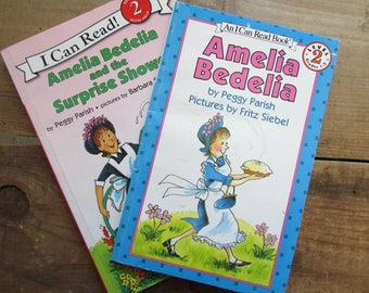 Picture Books Amelia Bedelia and Amelia Bedelia and the Surprise Shower by Peggy Parish I can Read Books