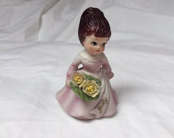 Fine Porcelain July Girl