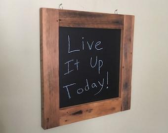 Barn Board Chalkboard