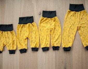 Baby-Pants: Glückskind  Summer - UV50+  70% Merinowool & 30 Silk organic/GOTS - designed in Austria
