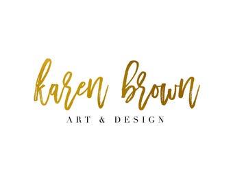 Custom Logo Design: Handwritten Logo Look