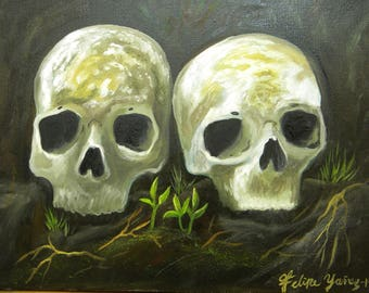 Life and death coexist...