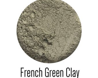 Skin purification, deep cleansing and detox clay mask with herbs and essential oils