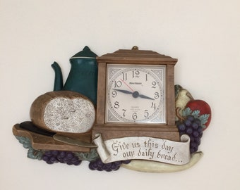 Vintage Burwood clock