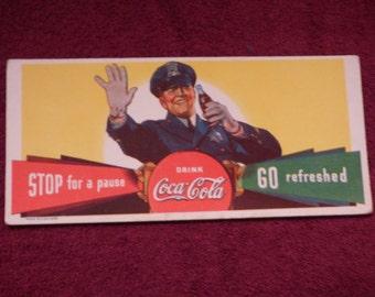 Coca Cola ink blotter