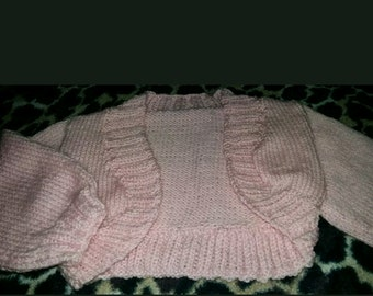 Pink 12-18 months bolero