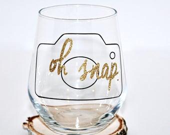 Camera Wine Glass Etsy - Vinyl decals for glassware