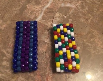 Multi-colored Handmade Beaded Bracelets