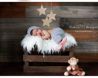 Newborn Lace Mohair Outfit