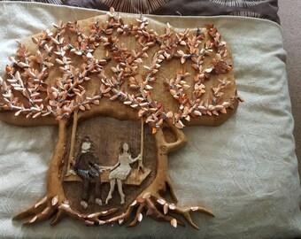 Sweetheart tree swing