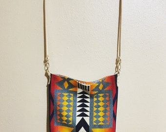 Pendleton wool cross body bag