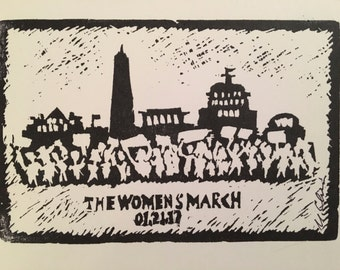 The Women's March Postcards: Set of 6