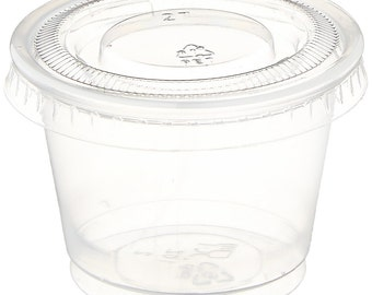 Portion Cup with Lid 1oz (Qty 100)