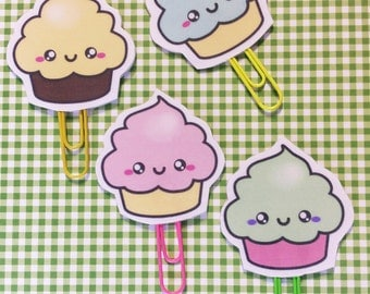 CLIPS KAWAII CUPCAKE