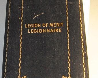 WWII Cased Complete Legion of Merit Legionnaire Medal