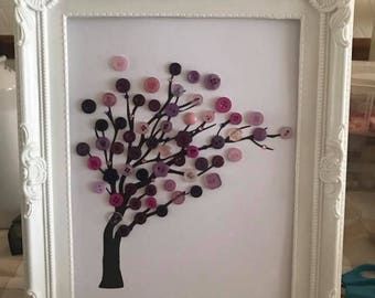 Tree Button Frame