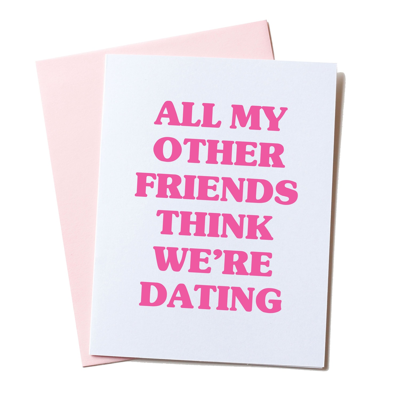Awkward valentine – Best Friend Valentine Card