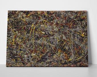No 5 Jackson Pollack Poster or Canvas | No 5 Jackson Pollack Poster or Canvas