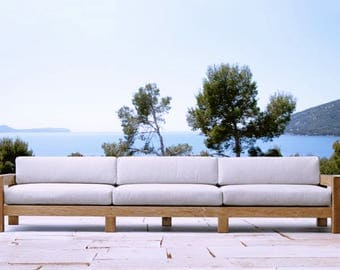 Sunbrella outdoor cushions for Dear Silvia