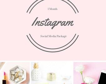 Social Media Instagram Package Custom Branded