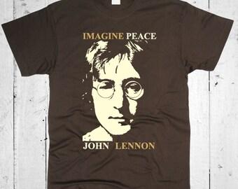 John Lennon Men T-shirt