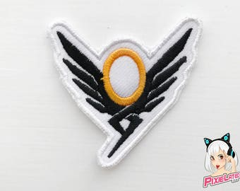 Mercy Overwatch Embroidery Patch