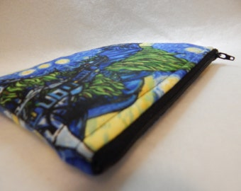 UNLIMITD - Starry Night Zipper Pouch - Travel Bag - Cosmetic Bag - Pencil Pouch