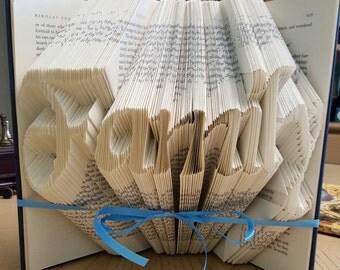 Hand Folded FAMILY book