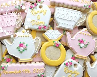 Bridal Shower Tea Party Theme - 1 Dozen