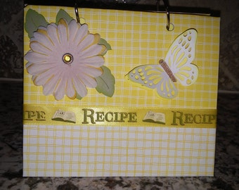 Recipe Card Binder