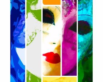 Art Print | Mardi Gras Style