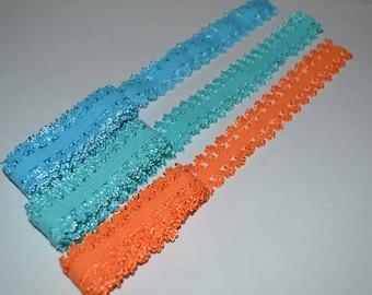 Choose Your Color 5 Yards Picot Edge Elastic Elastic DESTASH SALE