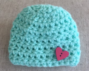 Free shipping Handmade Premie Hat for boy or girl twins and triplets