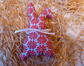 Sweet Bunny from retro cotton fabric for the Easter decor