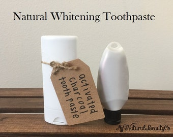 Natural Whitening and Remineralizing Toothpaste