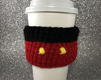 Mickey coffee cozy