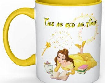 Beauty & Beast mug ~ Tale as old as time ~
