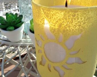 Tangled Lantern Candle