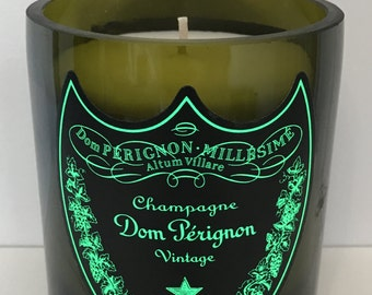 Upcycled Dom Perignon Candle Perfect Gift/ Present