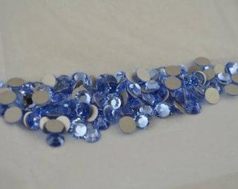 Swarovski Crystal Flatbacks 2028 Xilion Rose ss34 Light Sapphire (211) 720 pcs